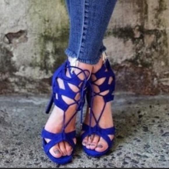 profesional mejor calificado descubre las últimas tendencias al por mayor Steve Madden Shoes | Maiden Sandals Cobalt Blue Sz 8m | Poshmark
